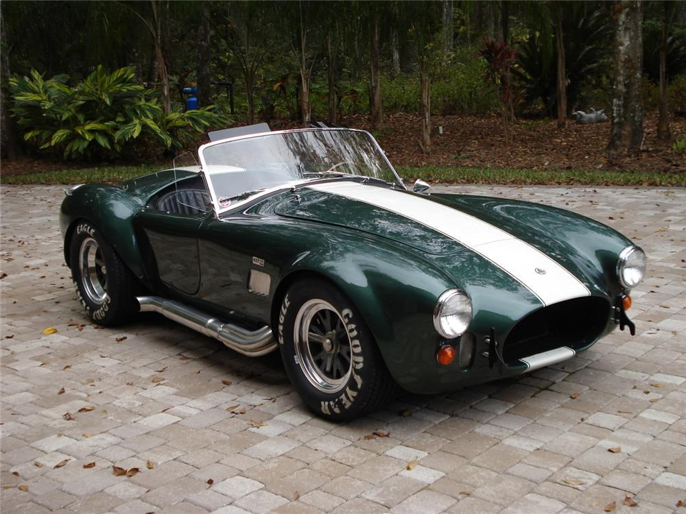 1967 SHELBY COBRA 427 ROADSTER CSX3279 - Front 3/4 - 61816