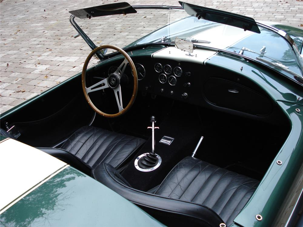 1967 SHELBY COBRA 427 ROADSTER CSX3279 - Interior - 61816