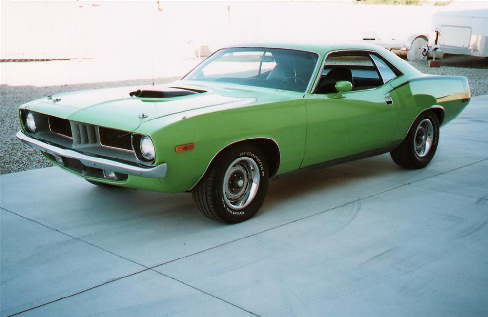 1972 PLYMOUTH HEMI CUDA RE-CREATION - Front 3/4 - 61842
