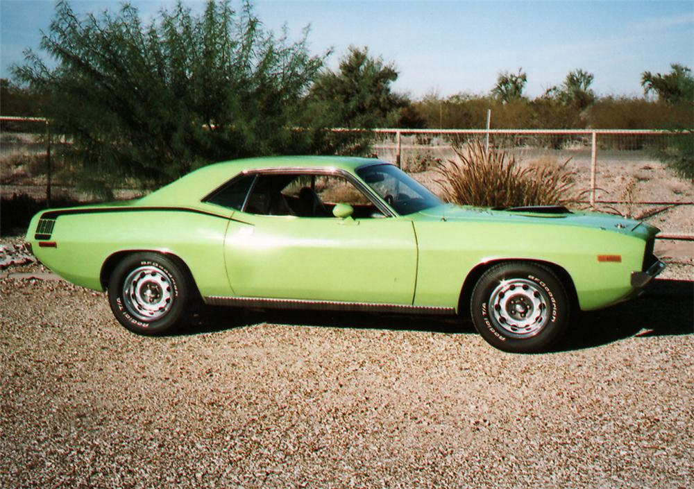 1972 PLYMOUTH HEMI CUDA RE-CREATION - Side Profile - 61842