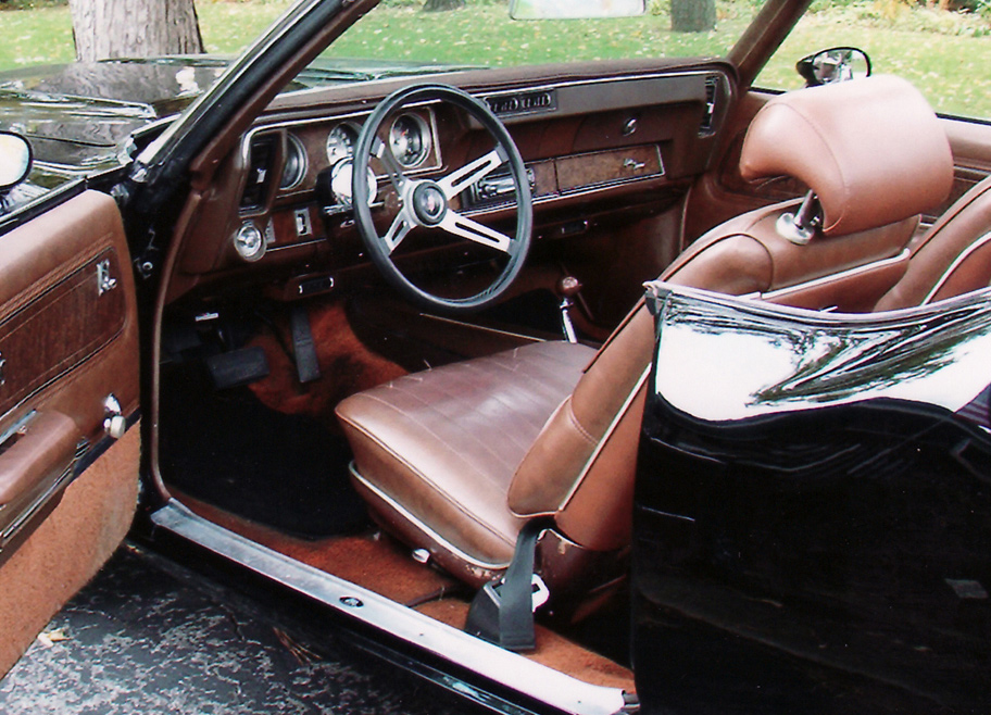1970 OLDSMOBILE CUTLASS SUPREME CUSTOM CONVERTIBLE - Interior - 61849