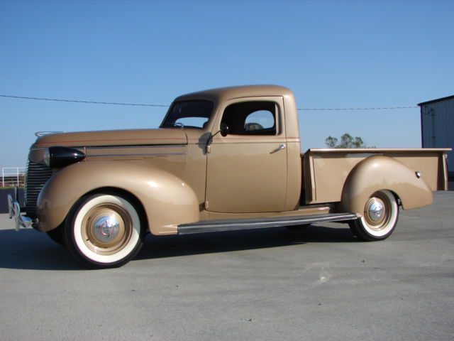 1939 HUDSON BIG BOY PICKUP - Side Profile - 61854