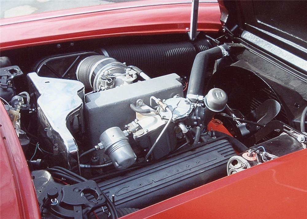 1960 CHEVROLET CORVETTE CONVERTIBLE - Engine - 61867