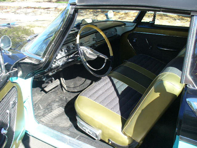 1957 DODGE CUSTOM ROYAL LANCER CONVERTIBLE - Interior - 61870
