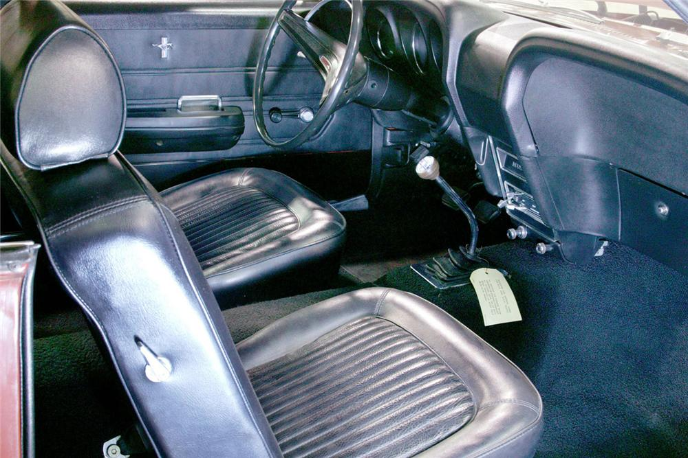 1969 FORD MUSTANG 428 SCJ CONVERTIBLE - Interior - 61877