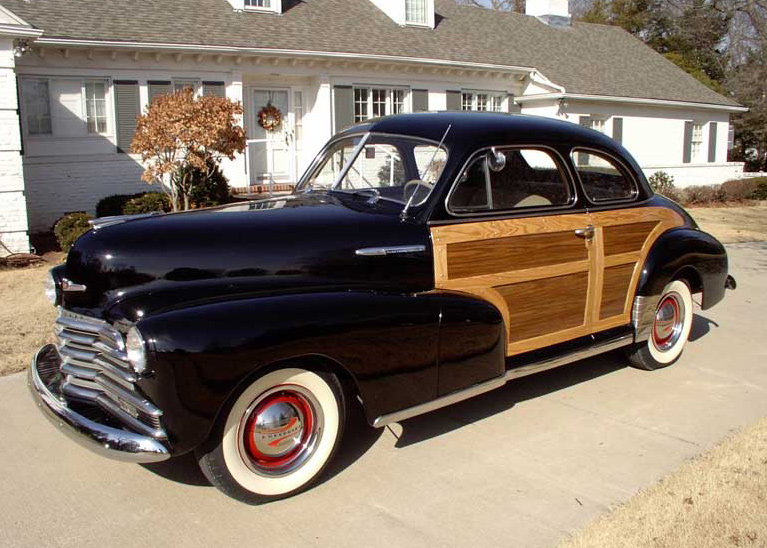 1947 CHEVROLET FLEETMASTER COUNTRY CLUB COUPE - Front 3/4 - 61902