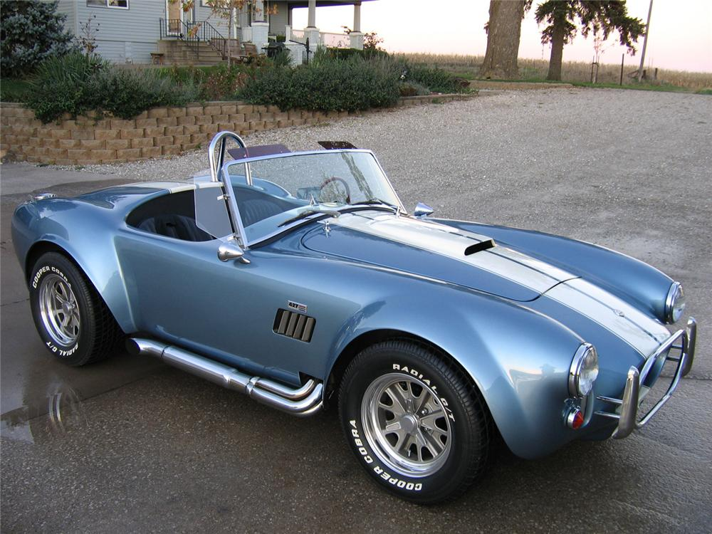 1966 SHELBY COBRA 427 RE-CREATION - Front 3/4 - 61910