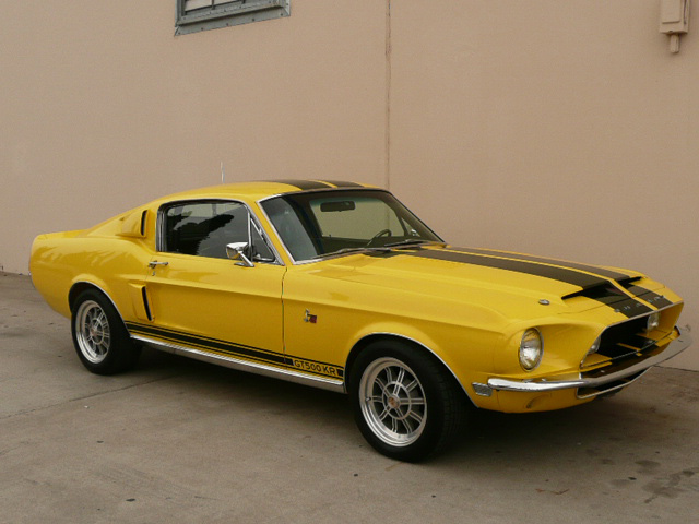 1968 SHELBY GT500 KR FASTBACK - Front 3/4 - 61912