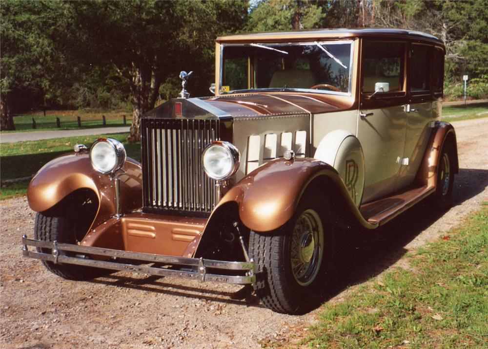 1931 ROLLS-ROYCE 4 DOOR STREET ROD - Front 3/4 - 61918