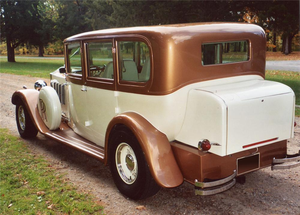 1931 ROLLS-ROYCE 4 DOOR STREET ROD - Rear 3/4 - 61918
