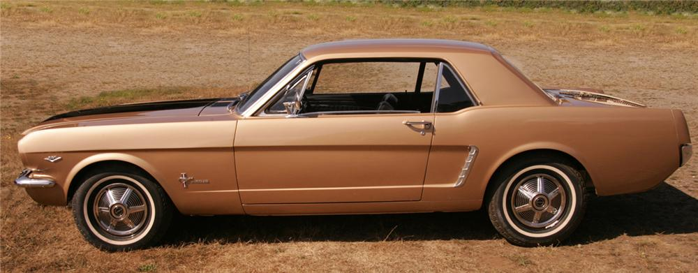 1965 FORD MUSTANG COUPE - Side Profile - 61929