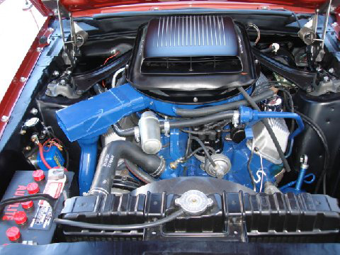 1969 FORD MUSTANG 428 SCJ SPORTSROOF - Engine - 61931