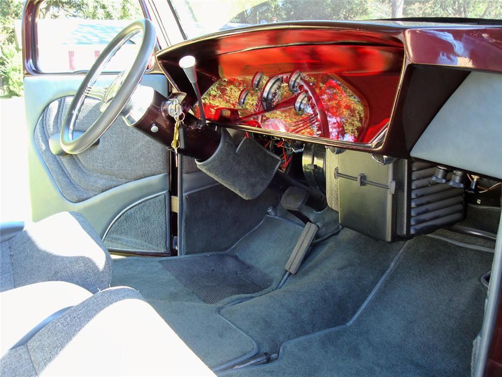 1936 FORD CUSTOM PICKUP - Interior - 61933