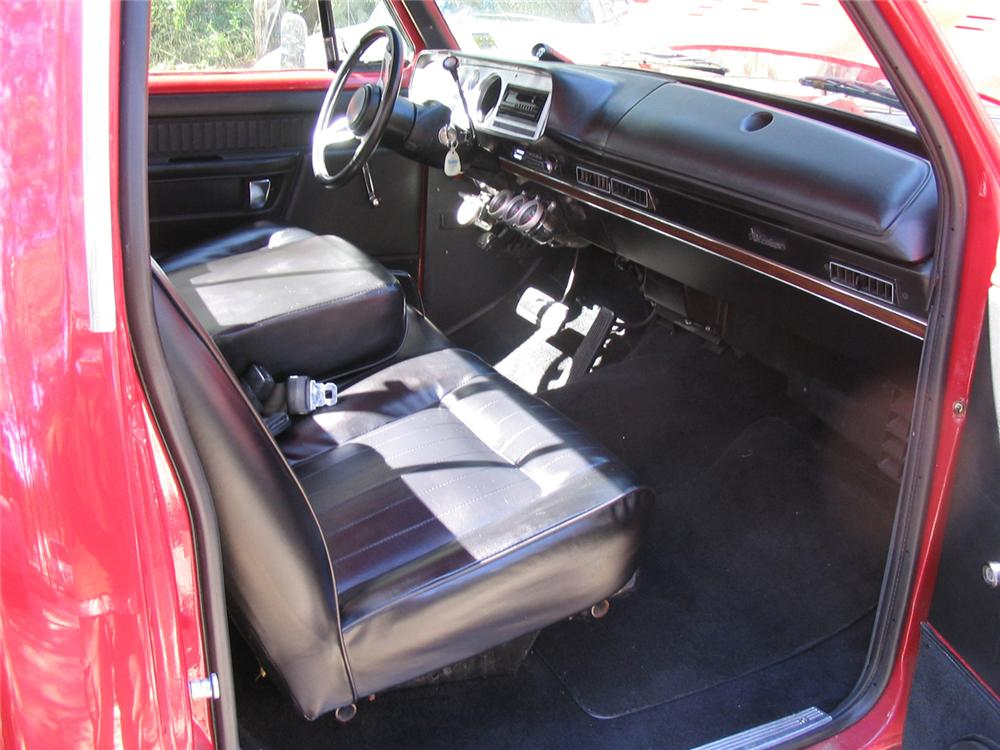 1979 DODGE LIL RED EXPRESS CUSTOM PICKUP - Interior - 61943