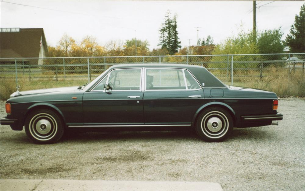 1984 ROLLS-ROYCE SILVER SPUR   - Side Profile - 61953
