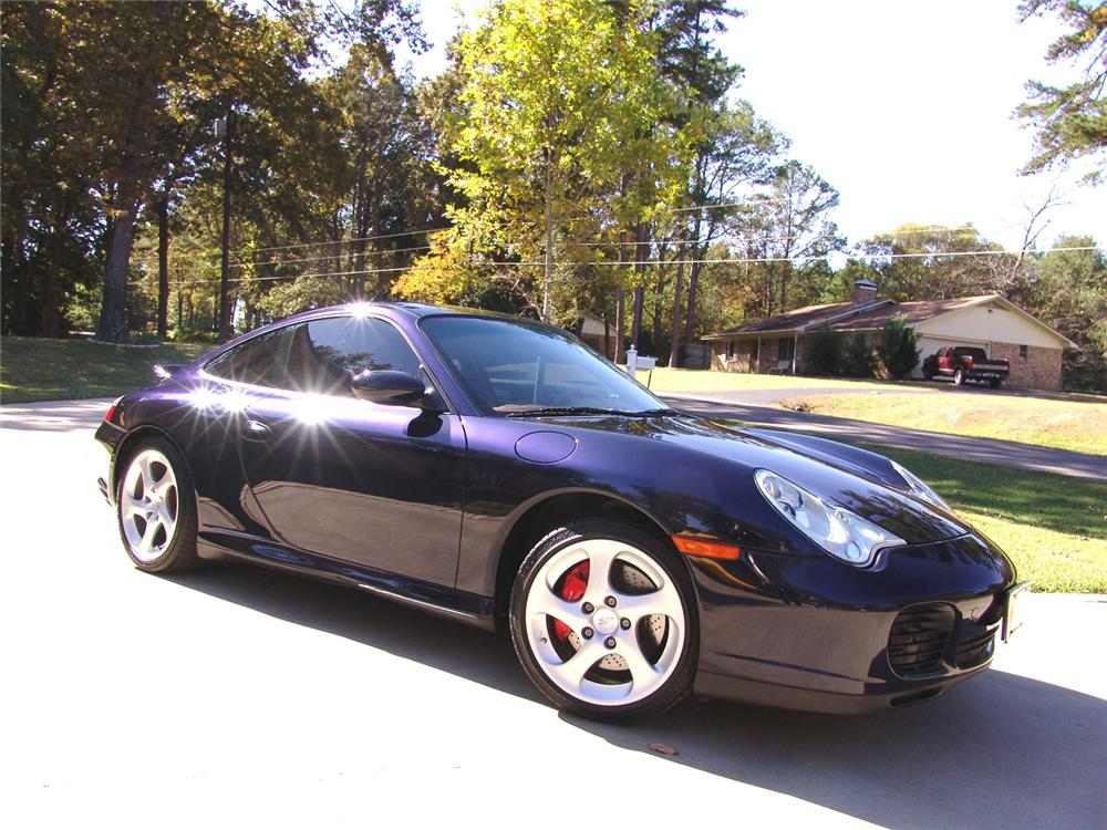 2004 PORSCHE CARRERA C4S CUSTOM COUPE - Front 3/4 - 61954
