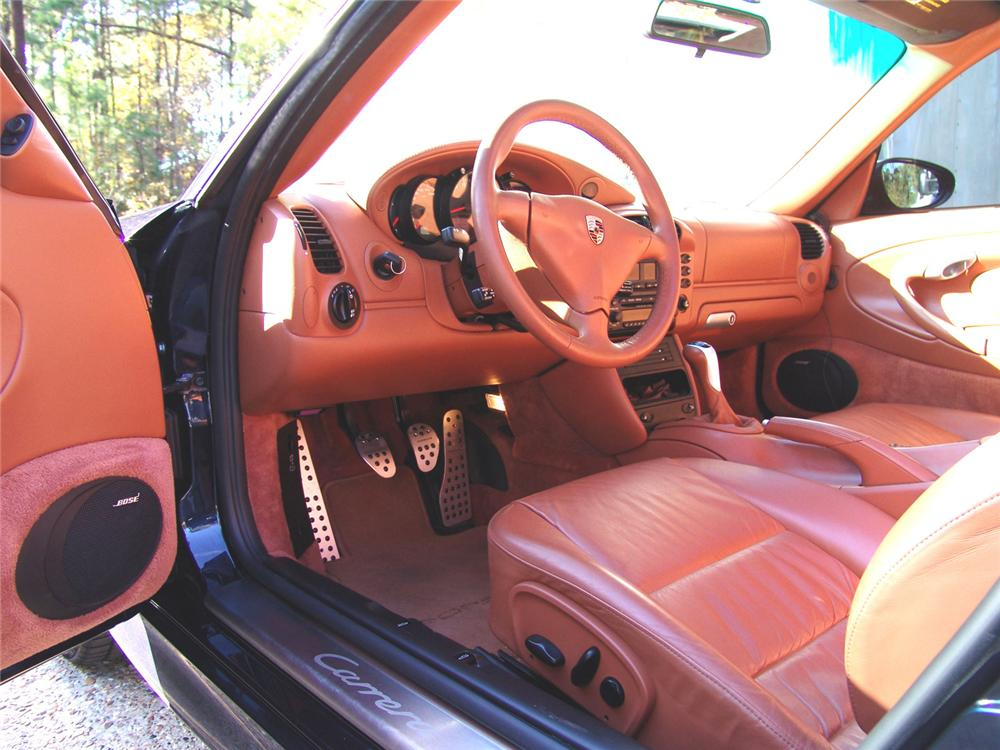 2004 PORSCHE CARRERA C4S CUSTOM COUPE - Interior - 61954