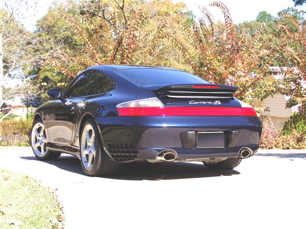 2004 PORSCHE CARRERA C4S CUSTOM COUPE - Rear 3/4 - 61954