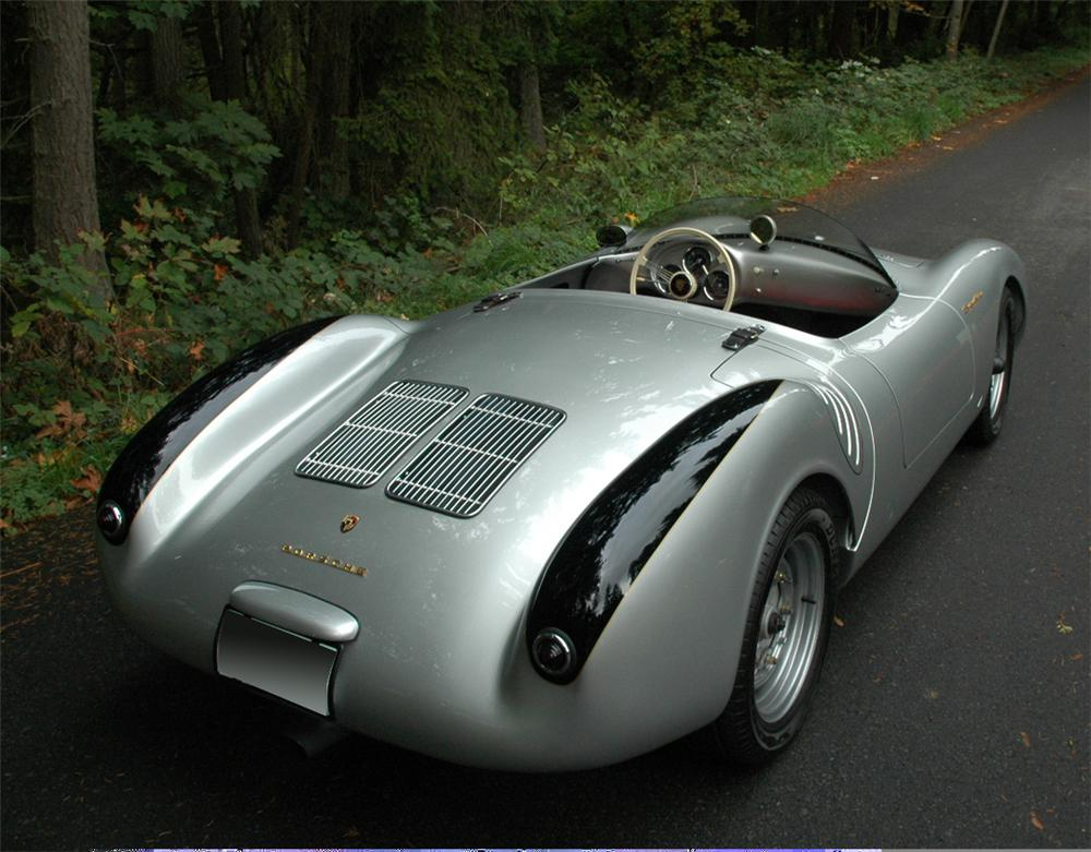 1955 PORSCHE 550 SPYDER RE-CREATION - Rear 3/4 - 61956