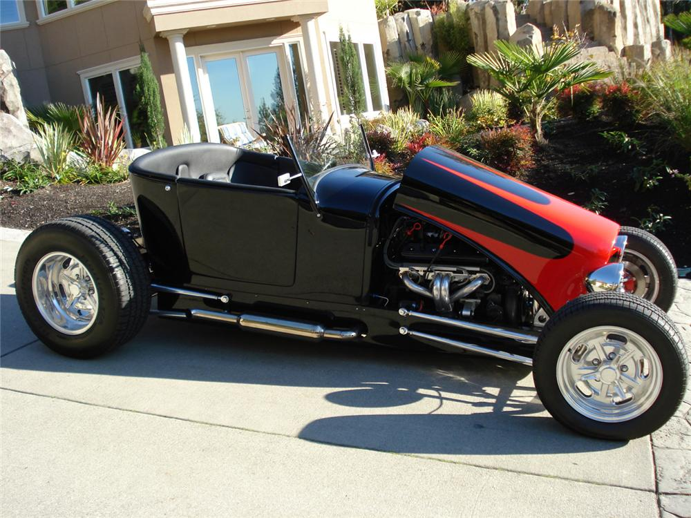 1927 FORD TRACK T CUSTOM ROADSTER - Side Profile - 61957