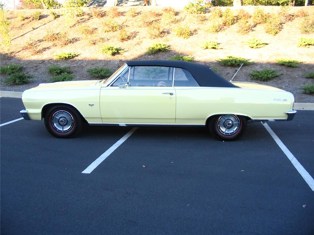 1964 CHEVROLET CHEVELLE MALIBU SS CONVERTIBLE - Side Profile - 61998