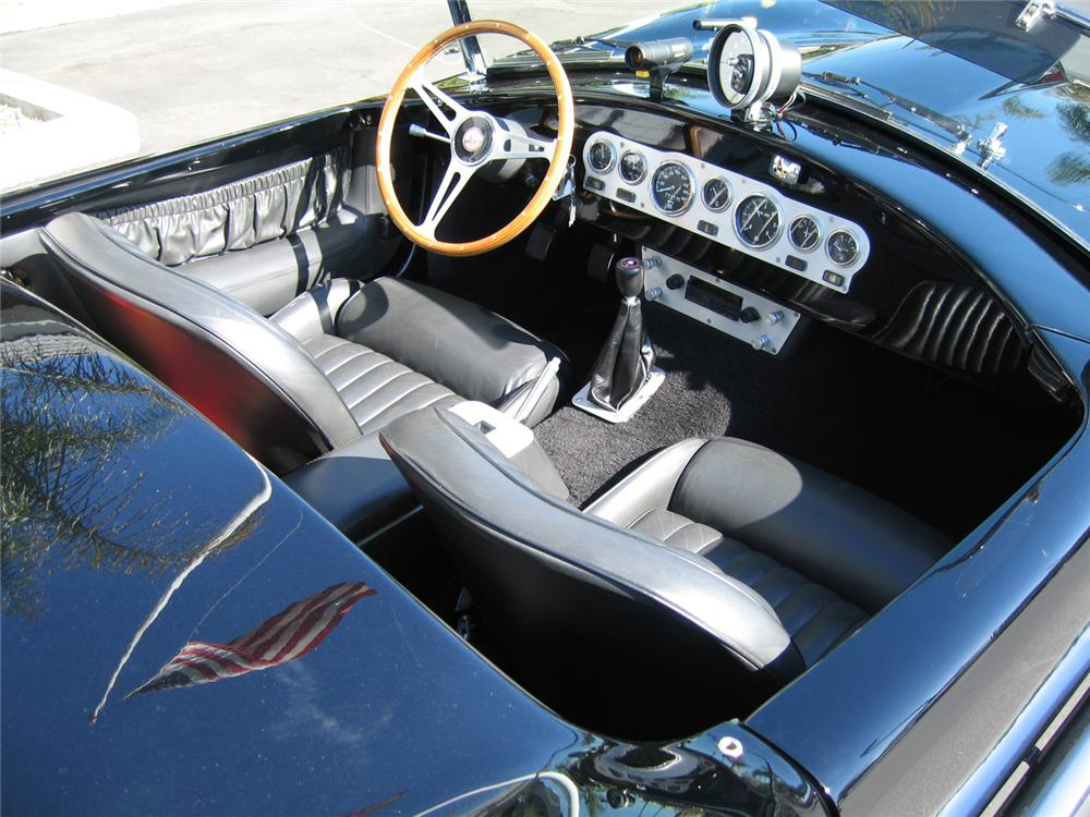 1965 SHELBY COBRA ROADSTER RE-CREATION - Interior - 62011