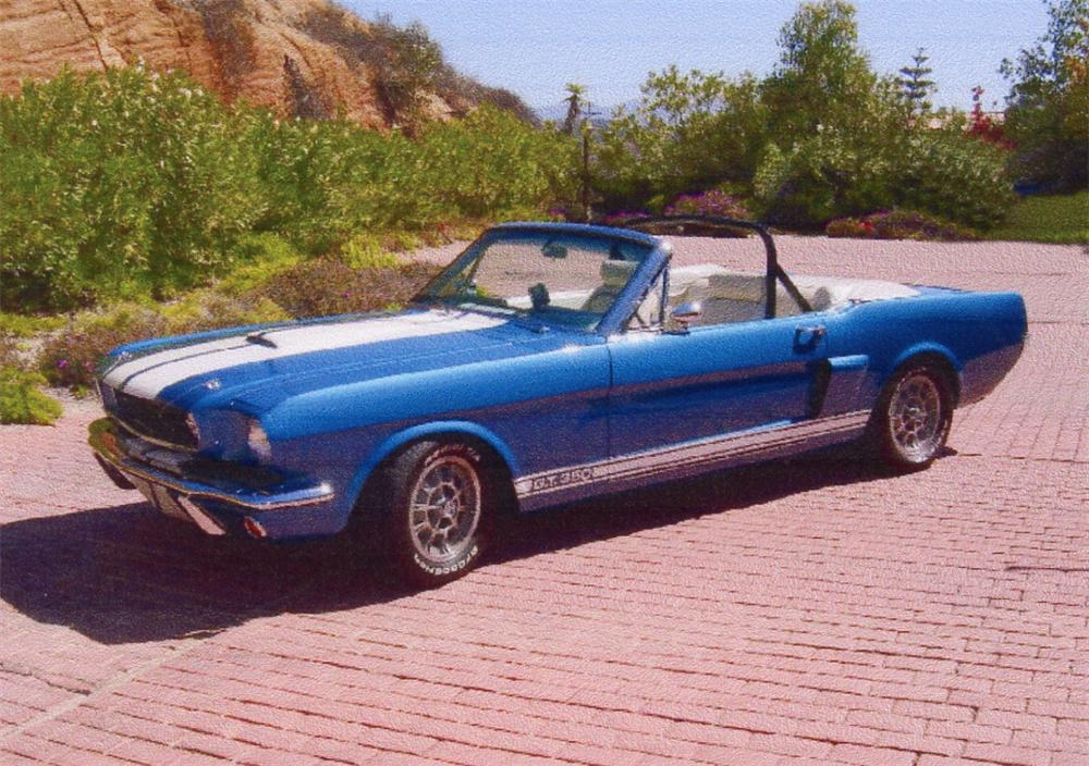1966 Shelby Gt350 Convertible Re Creation 62019