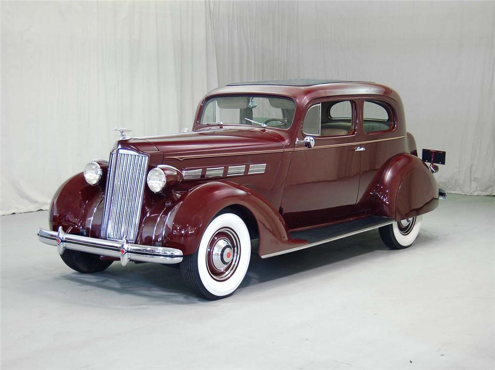 1937 PACKARD 120C TOURING COUPE - Front 3/4 - 62043