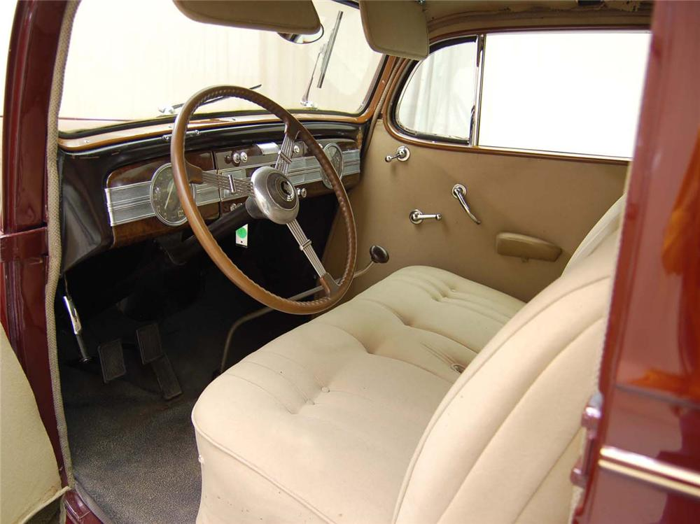 1937 PACKARD 120C TOURING COUPE - Interior - 62043
