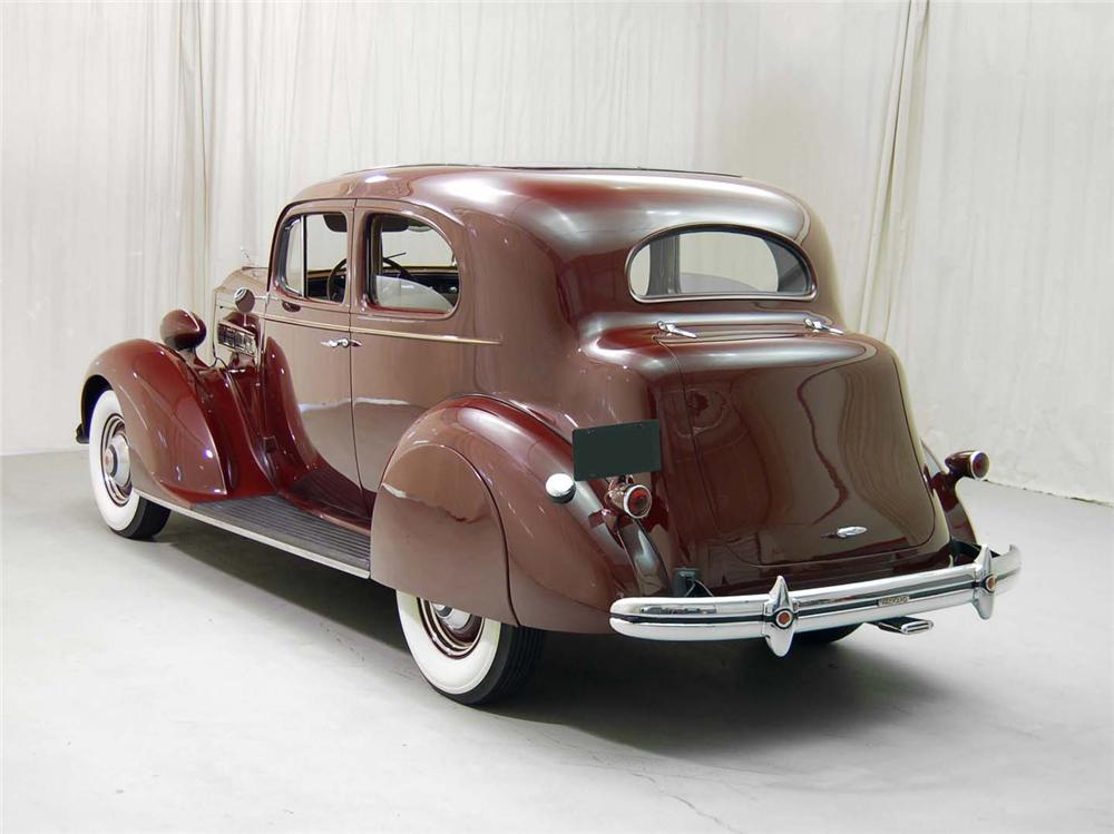 1937 PACKARD 120C TOURING COUPE - Rear 3/4 - 62043