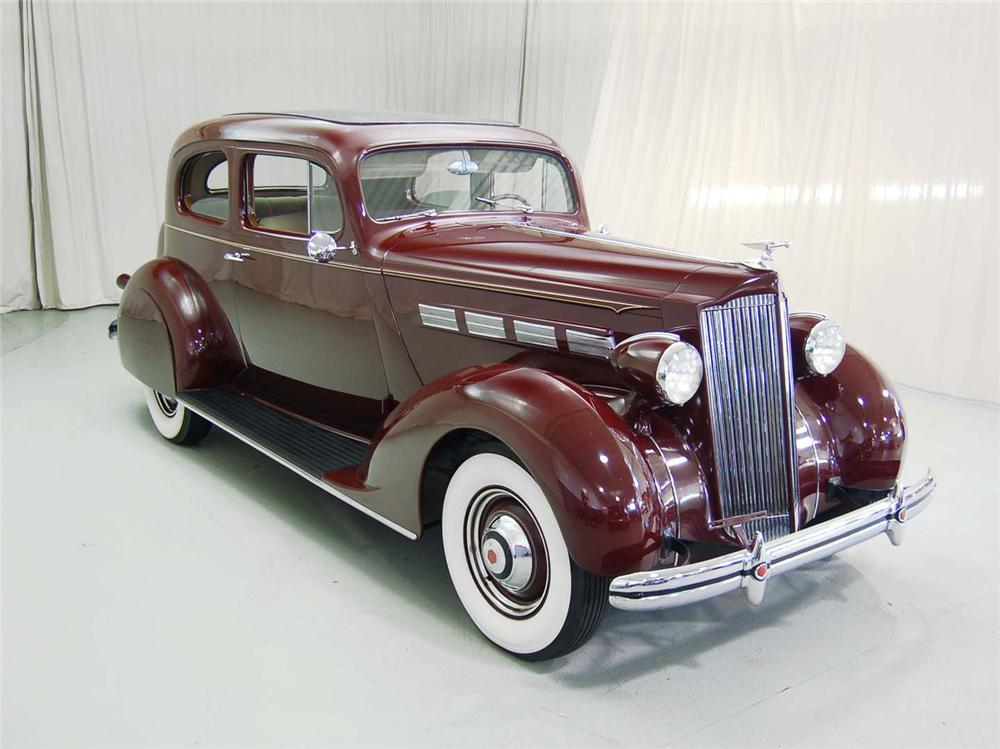 1937 PACKARD 120C TOURING COUPE - Side Profile - 62043