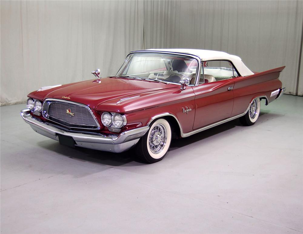 1960 CHRYSLER NEW YORKER CONVERTIBLE - Front 3/4 - 62044