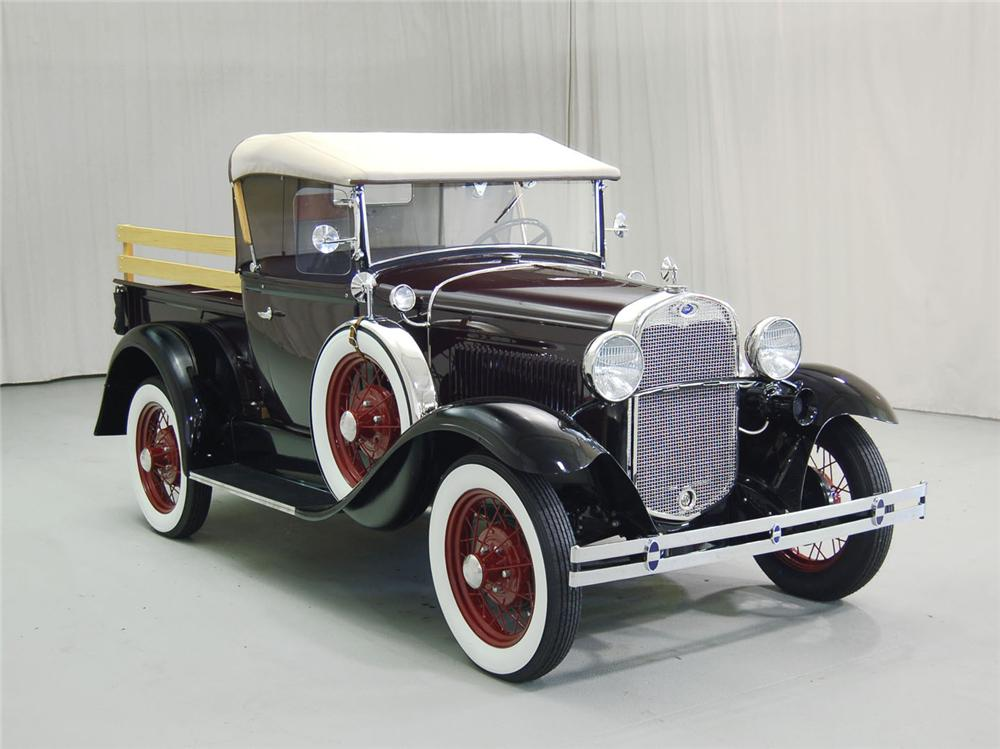 1930 FORD MODEL A PICKUP - Side Profile - 62046