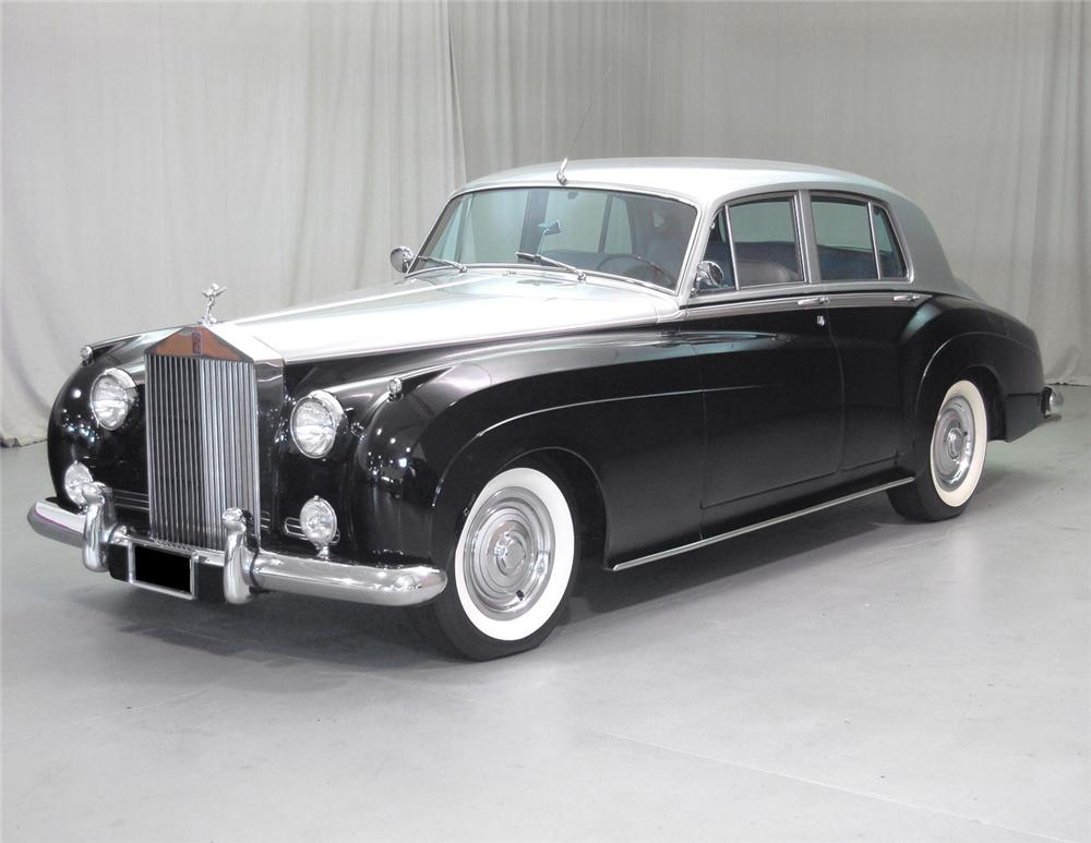 1960 ROLLS-ROYCE SILVER CLOUD II 4 DOOR SEDAN - Front 3/4 - 62048