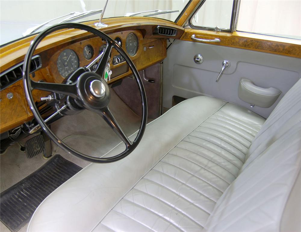 1960 ROLLS-ROYCE SILVER CLOUD II 4 DOOR SEDAN - Interior - 62048