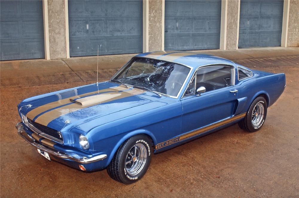 1966 SHELBY GT350 H FASTBACK - Front 3/4 - 62060