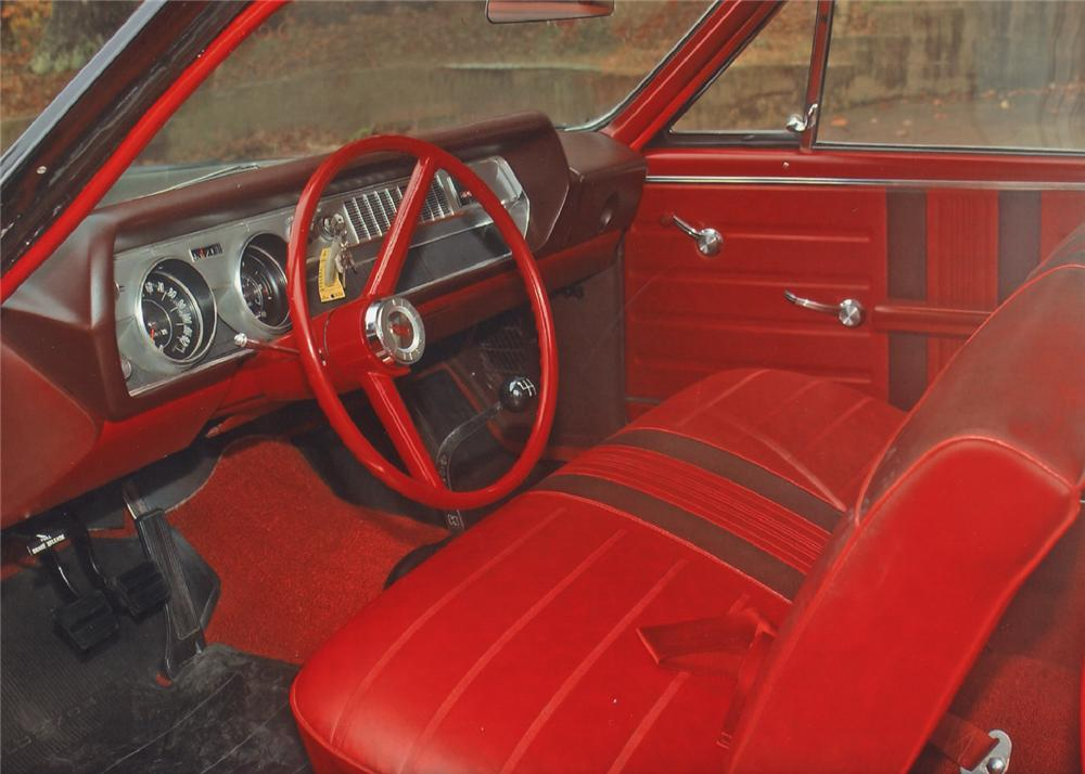 1966 OLDSMOBILE 442 2 DOOR HARDTOP - Interior - 62061