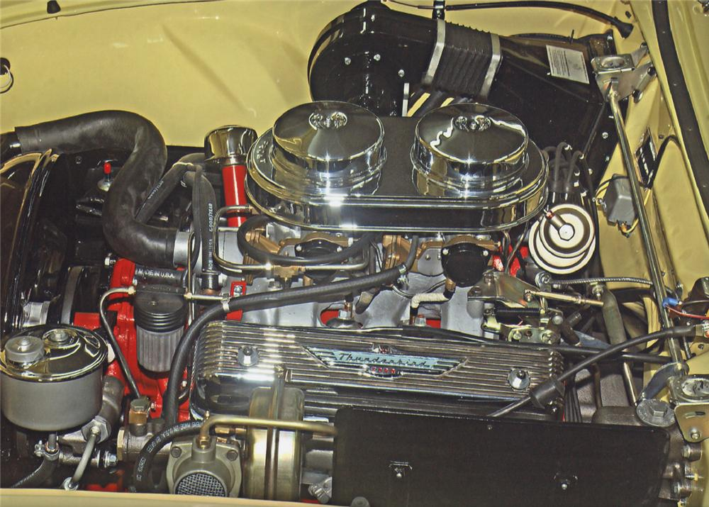 1956 FORD THUNDERBIRD CONVERTIBLE - Engine - 62062