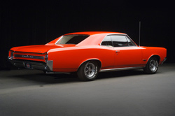 1966 PONTIAC GTO COUPE RE-CREATION - Rear 3/4 - 62152