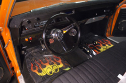 1967 CHEVROLET EL CAMINO CUSTOM PICKUP - Interior - 62154