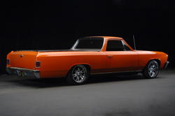1967 CHEVROLET EL CAMINO CUSTOM PICKUP - Rear 3/4 - 62154