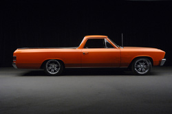 1967 CHEVROLET EL CAMINO CUSTOM PICKUP - Side Profile - 62154