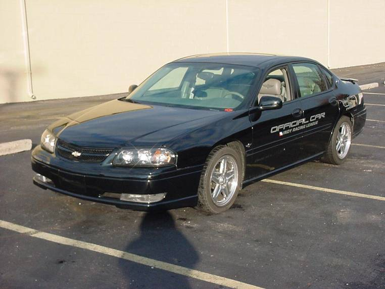 2004 CHEVROLET IMPALA SS IRL OFFICIAL CAR - Front 3/4 - 62608