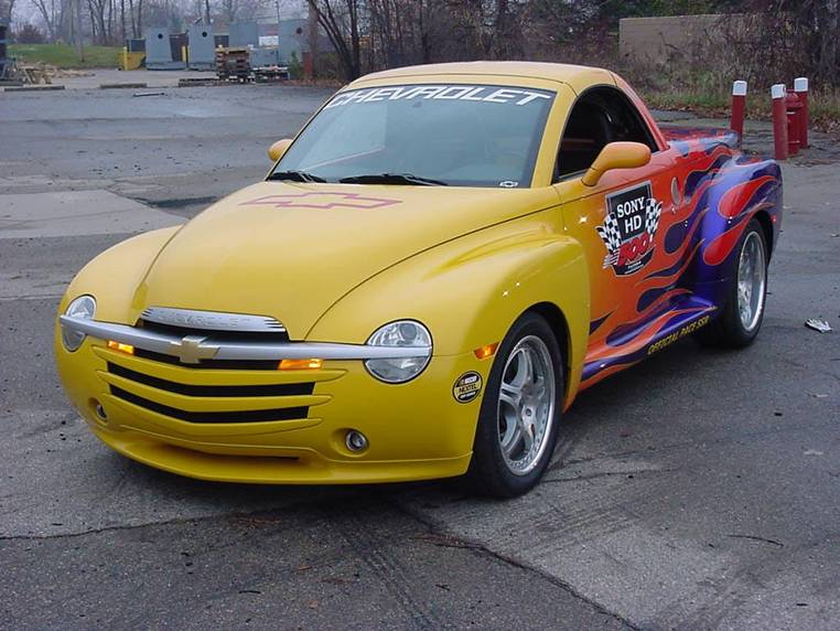 2003 CHEVROLET SSR SONY HD 500 PACE VEHICLE #3 - Front 3/4 - 62618