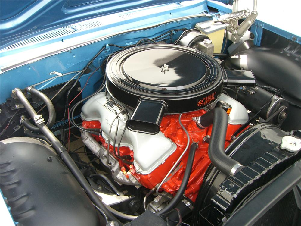 1961 CHEVROLET IMPALA SS 409 CONVERTIBLE - Engine - 62744