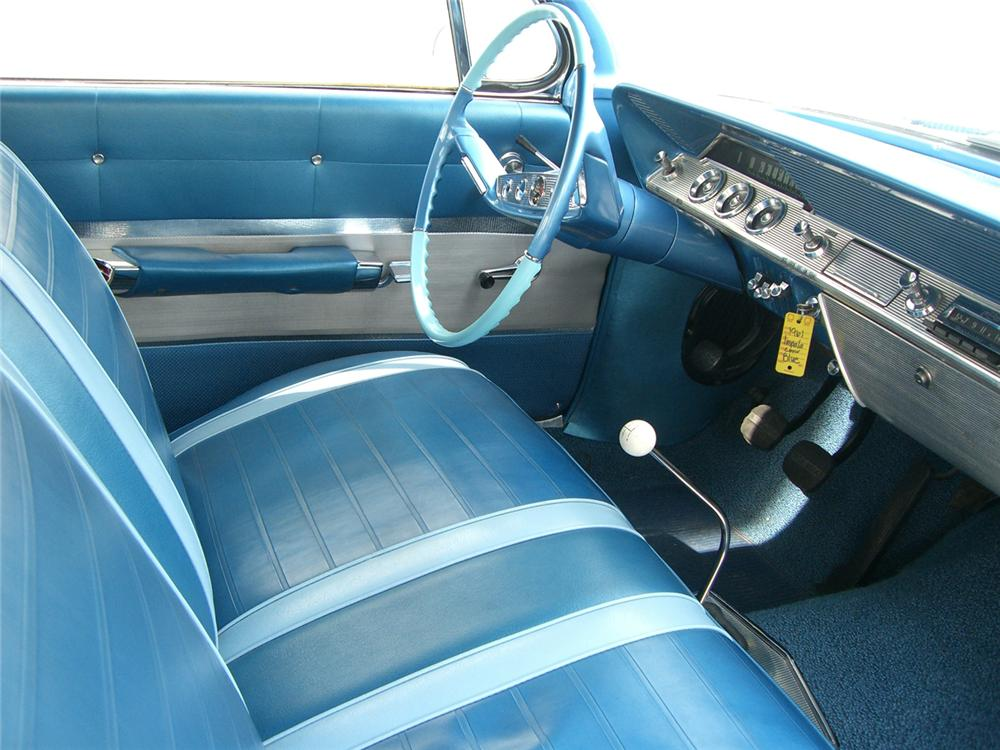 1961 CHEVROLET IMPALA SS 409 CONVERTIBLE - Interior - 62744