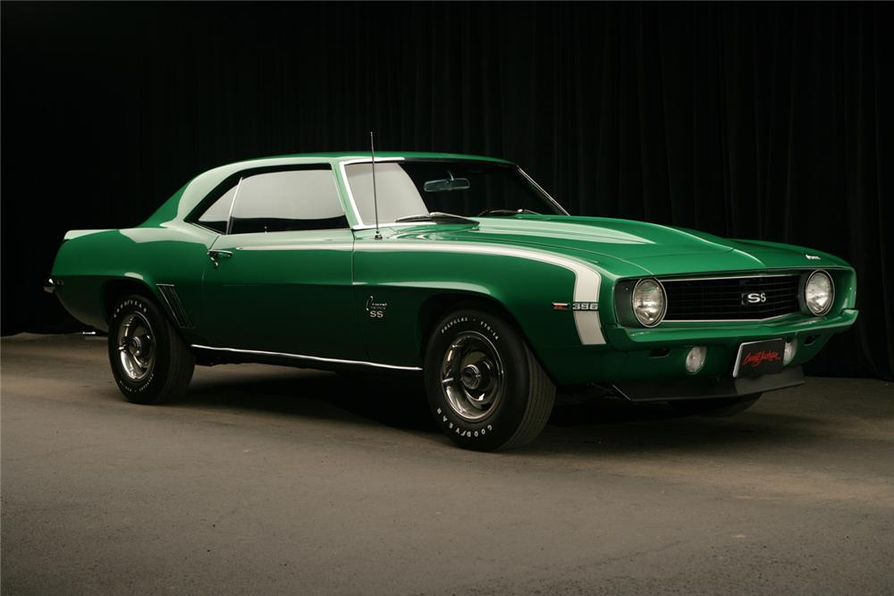 1969 CHEVROLET CAMARO SS COUPE - Front 3/4 - 62748