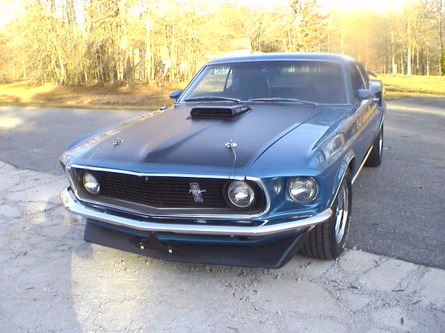 1969 FORD MUSTANG 428 SCJ FASTBACK - Front 3/4 - 63816