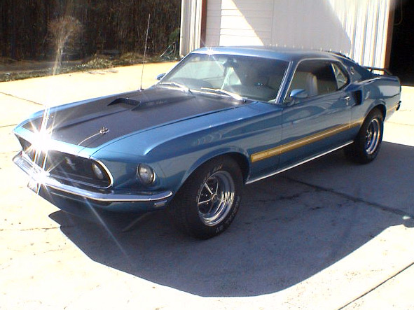 1969 FORD MUSTANG 428 CJ FASTBACK - Side Profile - 63817