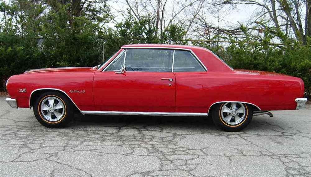1965 CHEVROLET CHEVELLE Z16 2 DOOR HARDTOP - Side Profile - 63818